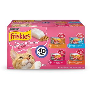 The Multi-Variety Wet Cat Food Pack By Purina Friskies
