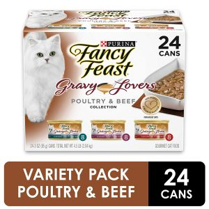 The Poultry & Beef Variety Collection By Purina Fancy Feast