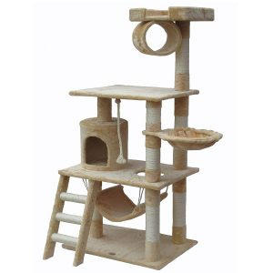 "The Tall 62"" Cat Tree by Go Pet Club"