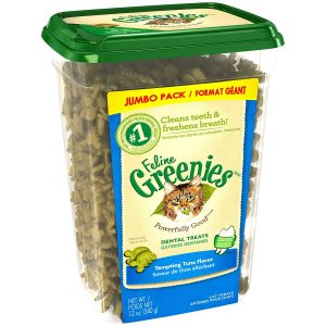 Tuna Flavor Dental Treats For Cats By Greenies