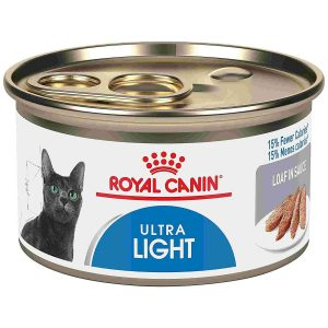 Ultra Light Wet Cat Food From Royal Canin