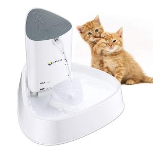 Ultra QuietLED Cat Water Fountain from isYoung