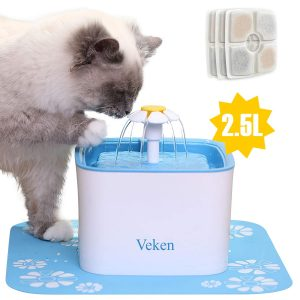 Unique Cat Drinking Water Fountain By Veken