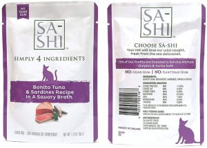 Unique Five Flavours Wet Cat Food By Sa-Shi