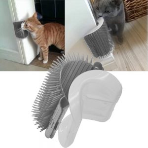 Upgraded Self-Groomer Cat Brush By InnoPet
