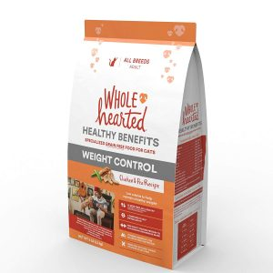Weight Control Dry Cat Food with Chicken and Pea Recipe From WholeHearted