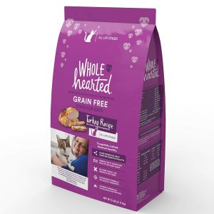 WholeHearted Grain Free Turkey Formula Dry Cat Food