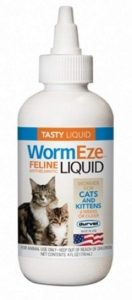 Wormeze Feline Liquid By Durvet