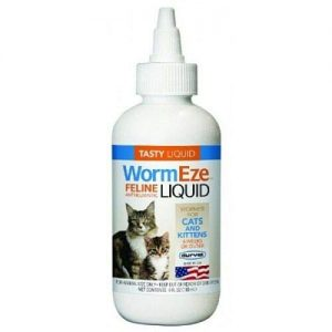 Wormeze Feline Liquid Dewormer 4oz
