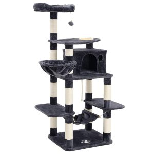 XL Cat Tree With A Feeding Bowl By Feandrea